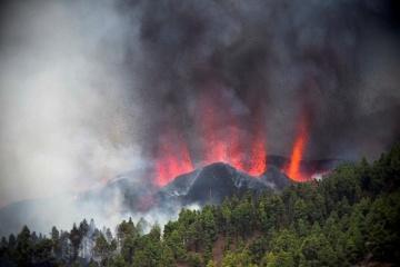 Извержение вулкана на Канарах: разрушены но меньшей мере 100 домов