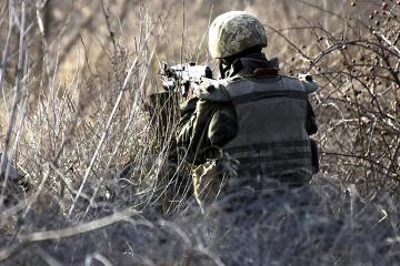 Okupanci wczoraj na Wschodzie 5 razy naruszali zawieszenia broni - jeden ukraiński żołnierz został ranny