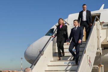 Zelensky llega en visita de trabajo a Estados Unidos para asistir a la Asamblea General de la ONU