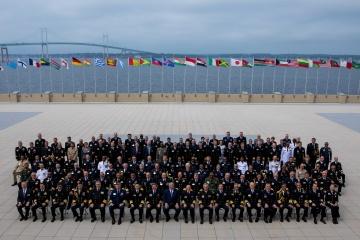 Ukraine Navy chief at int'l symposium talks of common maritime challenges