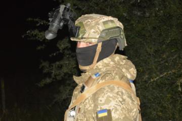 Saber Junction 2021: Ukrainian paratroopers hold night training