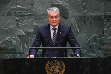 Nausėda at UN: Policy of non-recognition of occupation of Crimea must be reinforced