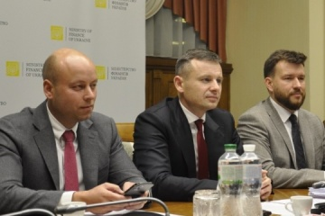 Finance Minister Marchenko meets with IMF mission chief to Ukraine
