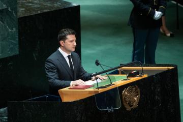 Discurso de Volodymyr Zelensky en la ONU