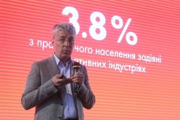 Minister Tkachenko calls on investing in creative economy