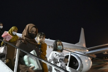 Another evacuation plane from Afghanistan arrives in Kyiv