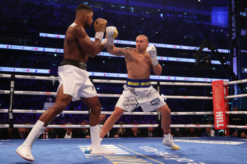 Boxe : Anthony Joshua veut sa revanche contre Olexandre Usyk