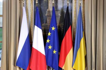 W ramach formatu normandzkiego omawiano udział w szczycie nowego kanclerza Niemiec – Reznikow