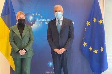 Stefanishyna informs EU about Ukraine's progress in achieving objectives of Association Agreement
