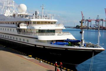 Llega a Odesa el primer crucero internacional en dos años