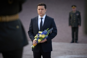 Zelensky: Preserving memory of Babyn Yar is our duty to future generations