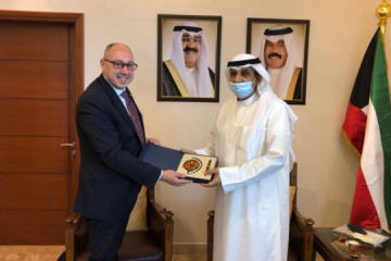 Ukraine, Kuwait discuss mutual recognition of COVID certificates