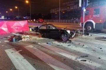 Drei Ukrainer sterben bei einem Verkehrsunfall in Polen