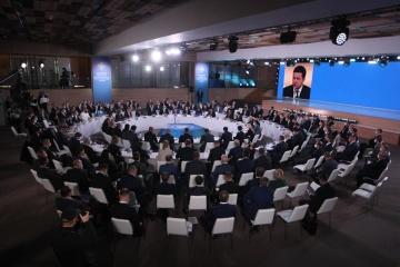 Zelensky interviene en el Congreso de Autoridades Locales y Regionales