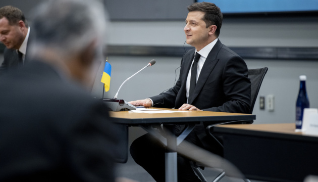 """Russian gas world's """"most polluted"""" – Zelensky to Granholm"""