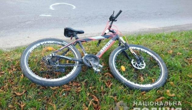 В Винницкой области мотоциклист сбил 11-летнюю велосипедистку