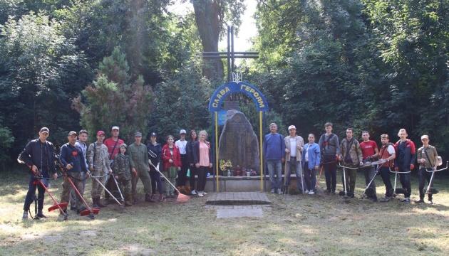 Франківські активісти в Польщі впорядкували кладовища, де поховані вояки УГА, УНР та УПА