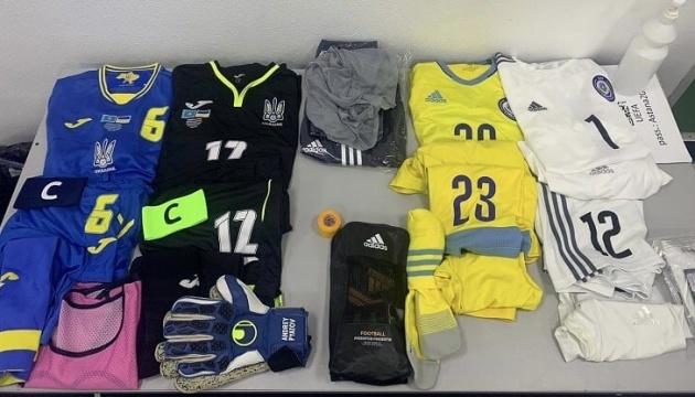 Українці вийдуть на матч з Казахстаном у синій формі