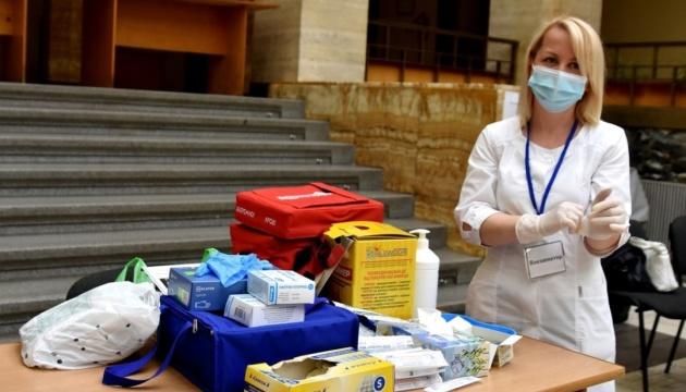 На Закарпатье открыли центр вакцинации в помещении облсовета