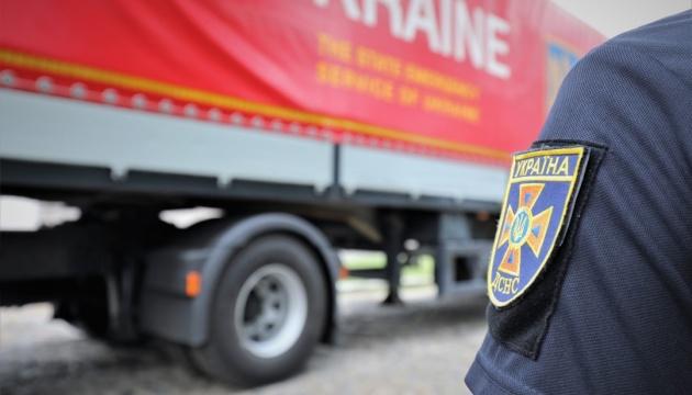Украина направила в Литву почти 50 тонн гумпомощи для обустройства границы