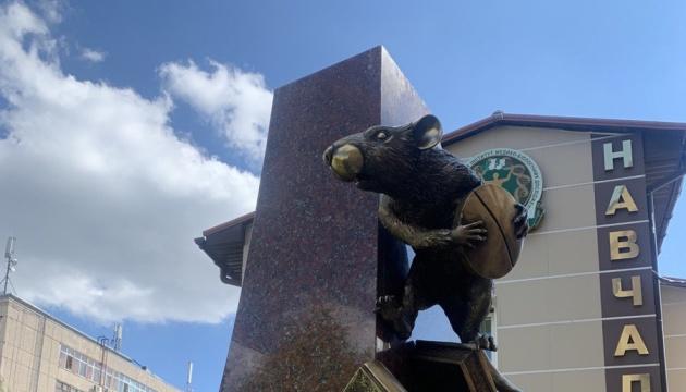 У Харкові відкрили пам'ятник щуру