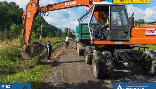 На Буковині почали ремонтувати одну з найдовших доріг державного значення