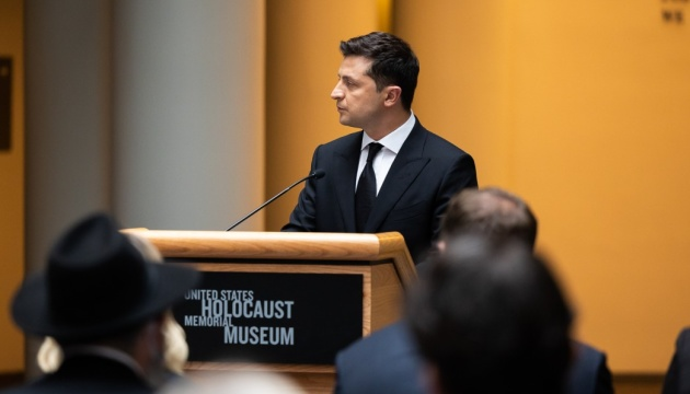 Зеленский заверяет, что идеи расизма и нетерпимости не имеют никаких шансов в Украине