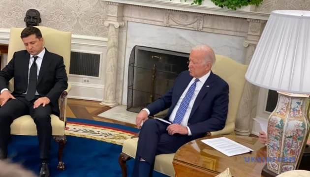 U.S. support for Ukraine's Euro-Atlantic aspirations remains unchanged - Biden