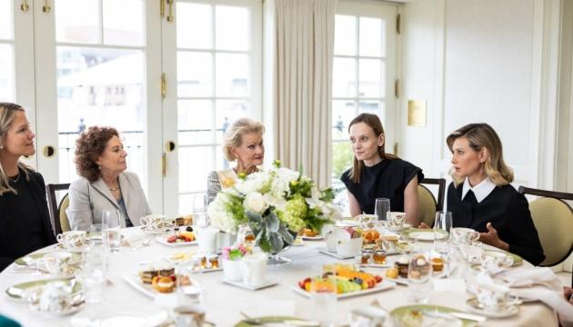 Олена Зеленська взяла участь у зустрічі з жінками-лідерками Power women
