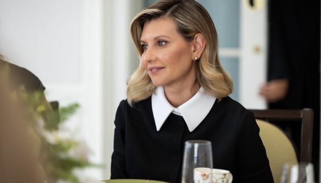 Зеленська розповіла про рік після приєднання до «Партнерства Біарріц»