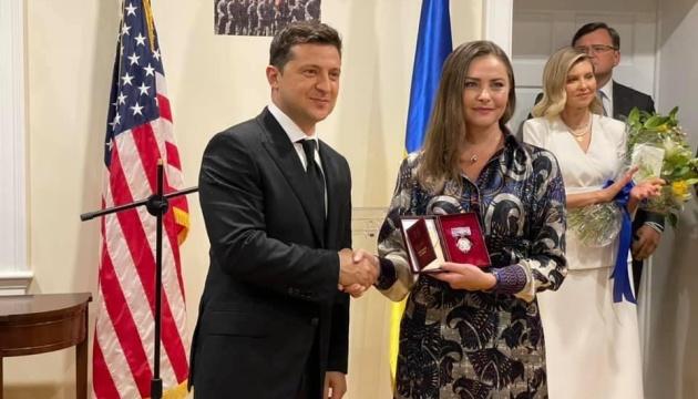 Зеленський відвідав Український дім у Вашингтоні та збирається до Каліфорнії
