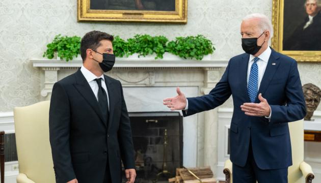 Zelensky tells of Biden's stance on Ukraine's NATO membership issue