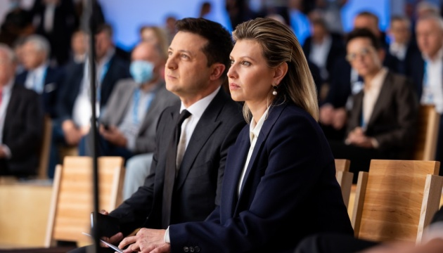 Зеленський і перша леді беруть участь у форумі YES