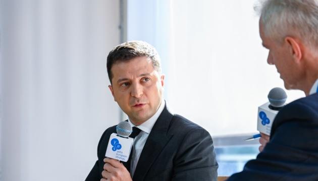 Prezydent powiedział, jaka była odpowiedź Bidena w odniesieniu do członkostwa Ukrainy w NATO