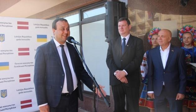 На Вінниччині відкрилось Почесне Консульство Латвійської Республіки