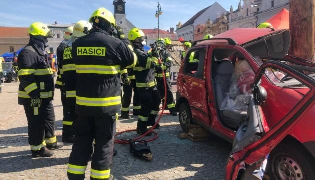 Українські рятувальники беруть участь у навчаннях Rescue Days у Чехії