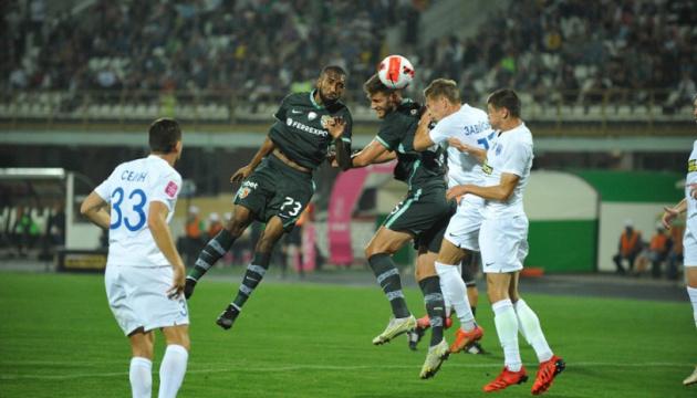 «Ворскла» не втримала перемогу над «Десною» у матчі 7-го туру УПЛ