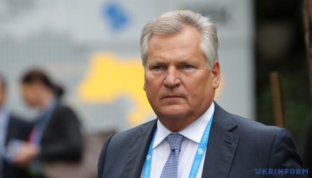 Kwaśniewski - Dialog Zachodu z Ukrainą powinien stać się bardziej pragmatyczny