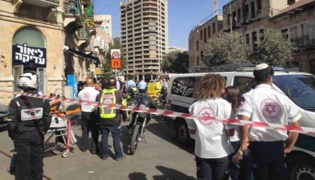 У Єрусалимі юнак з ножем напав на перехожих, є поранені