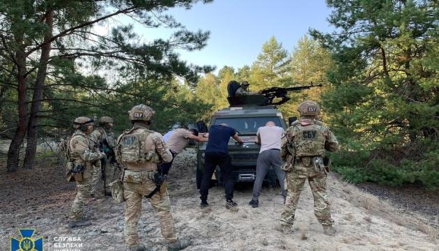 СБУ провела антитерористичні навчання поблизу кордону з Білоруссю