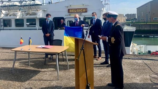 Бельгія передала Україні дослідницьке судно для моніторингу Чорного та Азовського морів