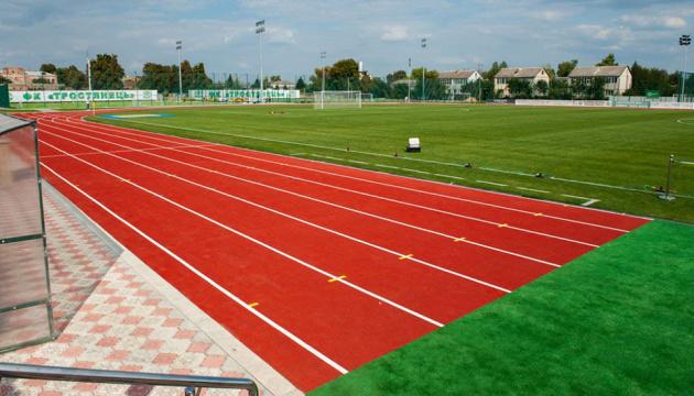 На Сумщині за програмою «Велике будівництво» відновили стадіон
