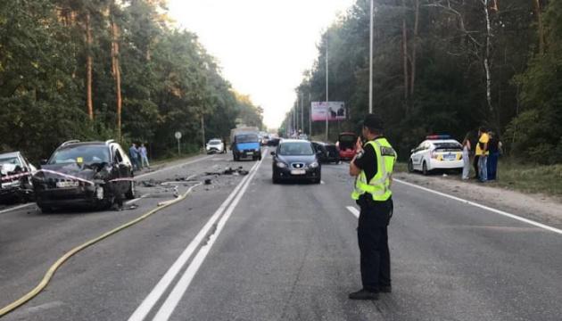 Винуватця ДТП із 8 авто на Столичному шосе взяли під варту