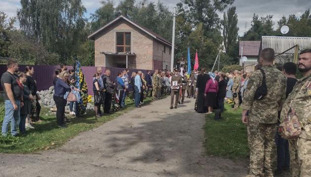 На Житомирщині попрощалися із загиблим у зоні ООС морпіхом