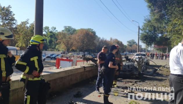 Zwei Menschen sterben bei Autoexplosion in Dnipro