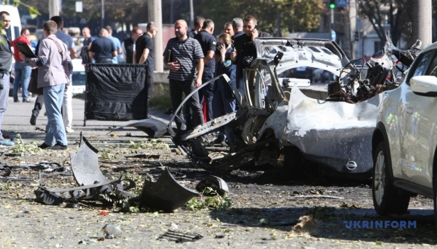 Car explosion takes two lives in Dnipro: Police qualify incident as terrorist attack