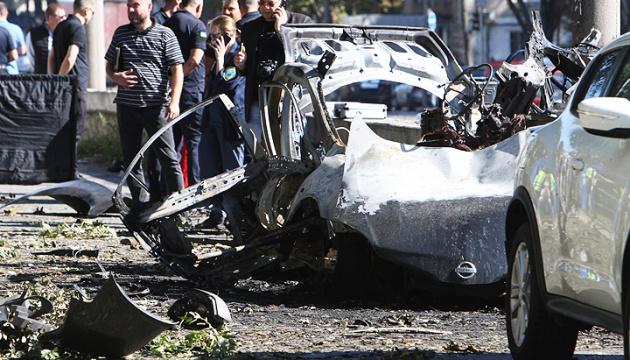 Policía califica la explosión en Dnipro con dos muertos como un atentado terrorista