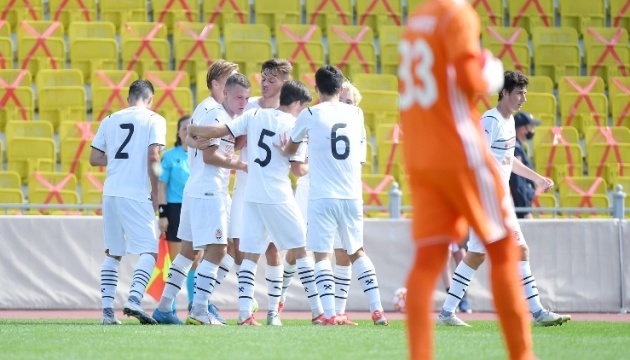 Юнацька ліга УЄФА: «Шахтар» на виїзді розгромив «Шериф»