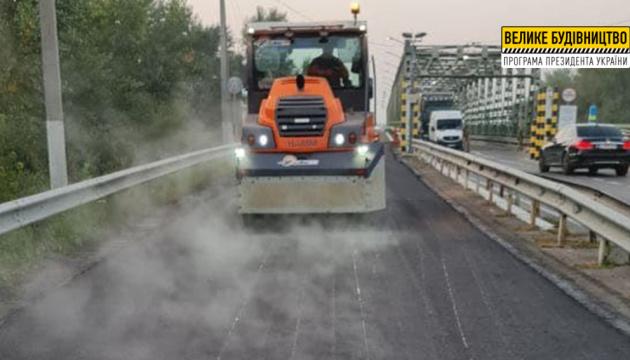 На Закарпатті завершили ремонт мосту на кордоні з Угорщиною