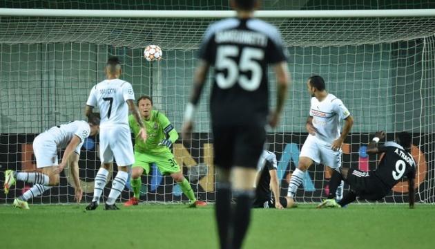 «Шахтар» поступився «Шерифу» в матчі Ліги чемпіонів УЄФА